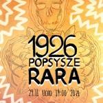 1926, Popsysze, Przed Państwem Rara - plakat